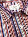Multi Color Stripes Fitted Shirt