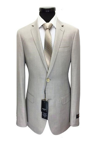 Light Stone 2-Button Slim Fit Suit