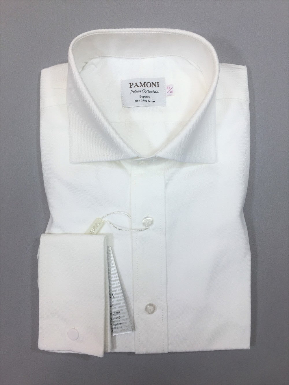 WHITE OXFORD SLIM FIT SHIRT