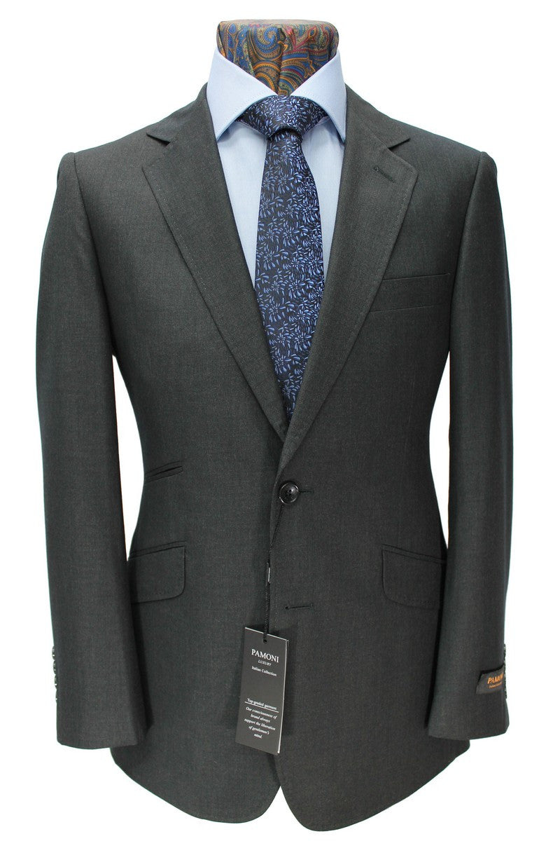 Charcoal 2-Button Slim Fit Suit