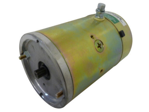 160-803 *NEW* Pump Motor for Fenner Stone, Ametek 12V CW 9 Spline