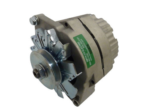 240-204-6VPOS *NEW* Alternator for Delco 10SI Self Exciting 6V Pos Ground