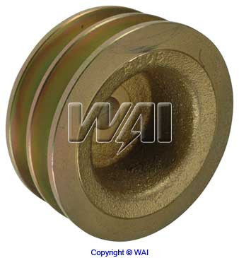 7940-1106 *NEW* Solid 2V Alternator Pulley 2 Groove