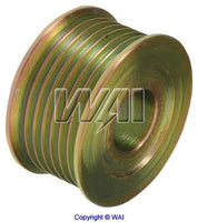 7940-1751 *NEW* Solid S7 Serpentine Pulley for Delco Alternators