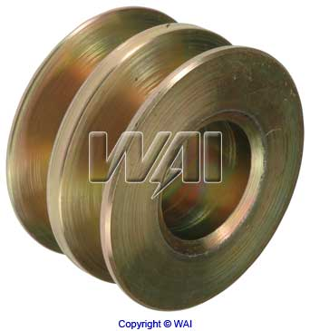 7940-7102 *NEW* Solid 2V Pulley for Delco Alternators