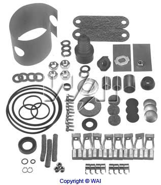 6940-4650 *NEW* Repair Kit for Delco 40MT Starters 12V 8 Brush