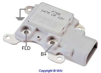 8050-514 *NEW* Regulator for Ford 3G Alternators w/ LRC