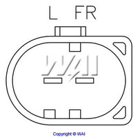 8020-1194 *NEW* Regulator for Bosch, Audi, Volkswagen Alternators 12V