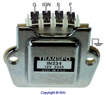 8090-4374 *NEW* Regulator for Denso Alternator on John Deere 12V