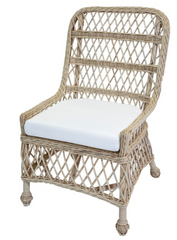 mainly baskets lemonade rattan dining chair