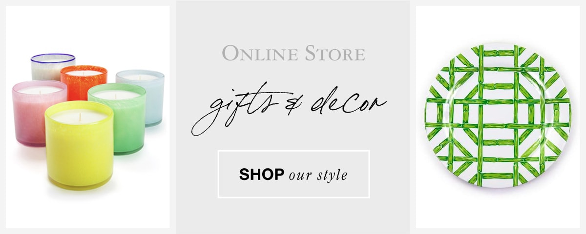 shop our online store - gifts & decor