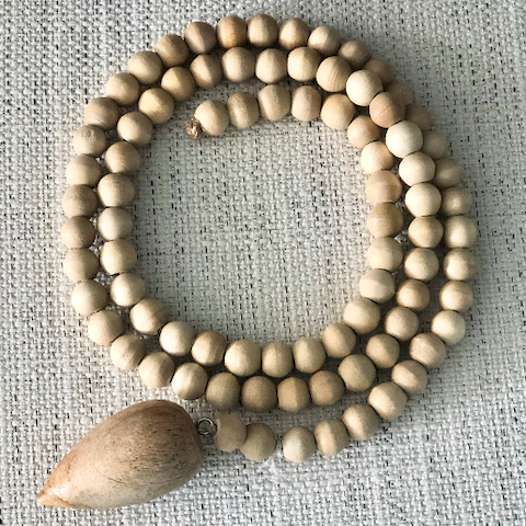 "39"" Strand of Wood Beads"