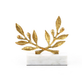 Gold Olive Statue