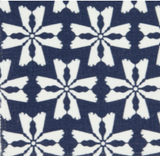 Dogwood Lumbar Pillow in Navy
