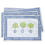 Lemon Topiary Placemats