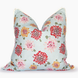 Multi Hydrangea Square Pillow