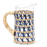 Small Island Pitcher in Navy