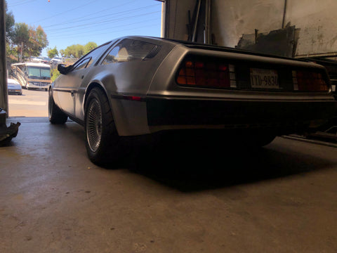 DeLorean Spacers
