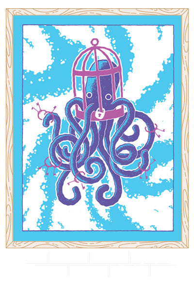 Caged Octopus