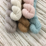 WGLY Rustic  Mini skein set - cool neutrals