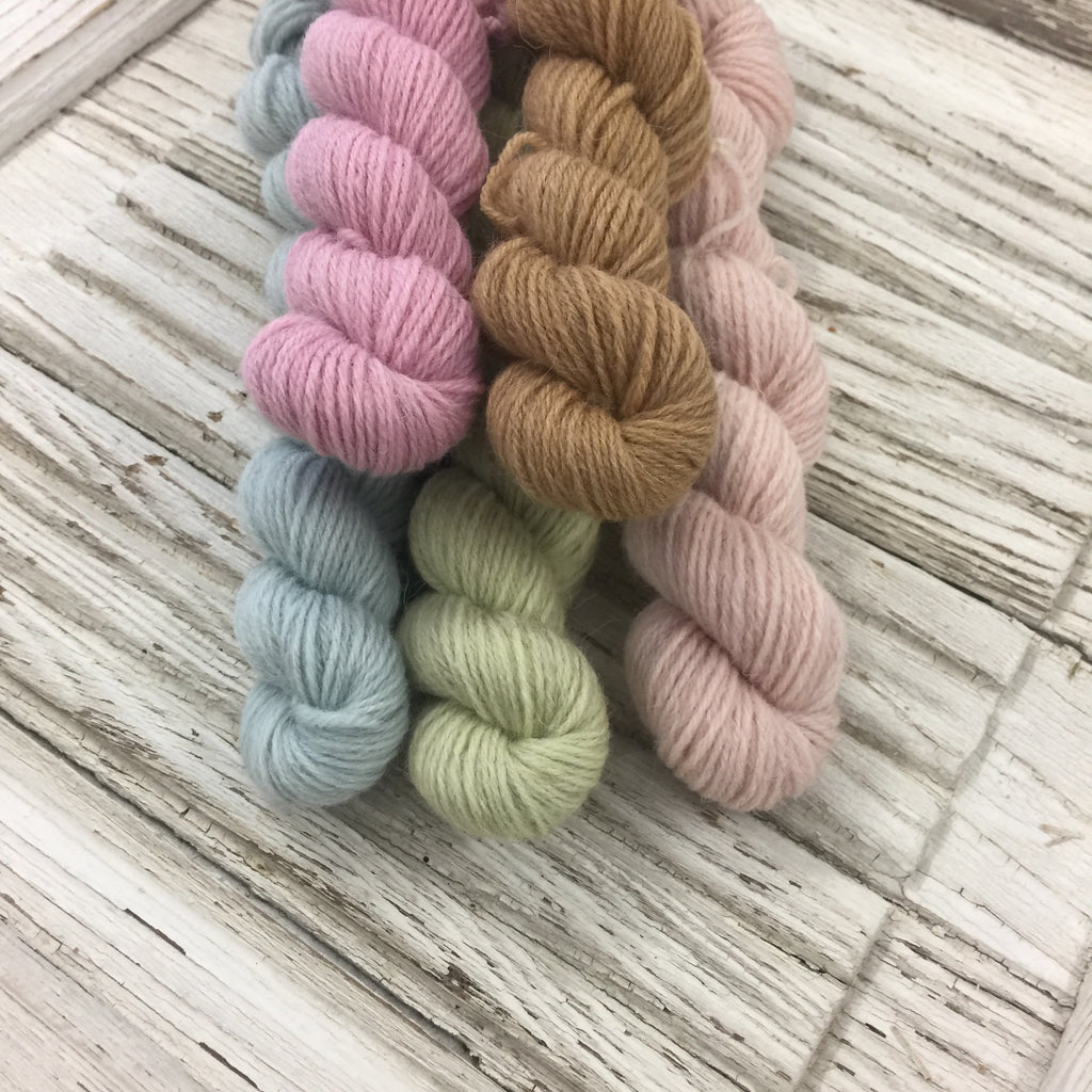 WGLY Rustic  Mini skein set -