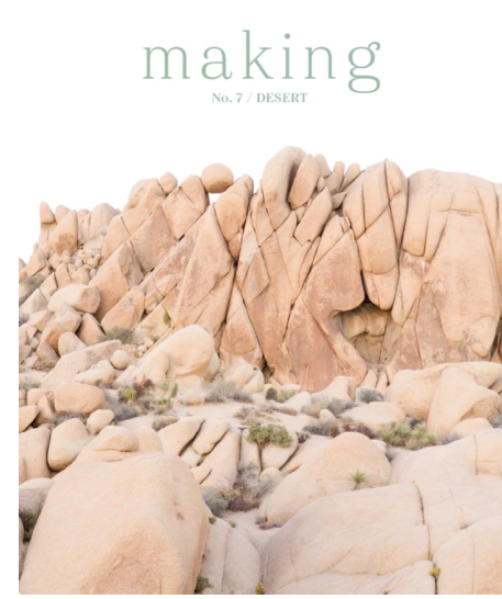 Making Magazine issue 7 - Desert