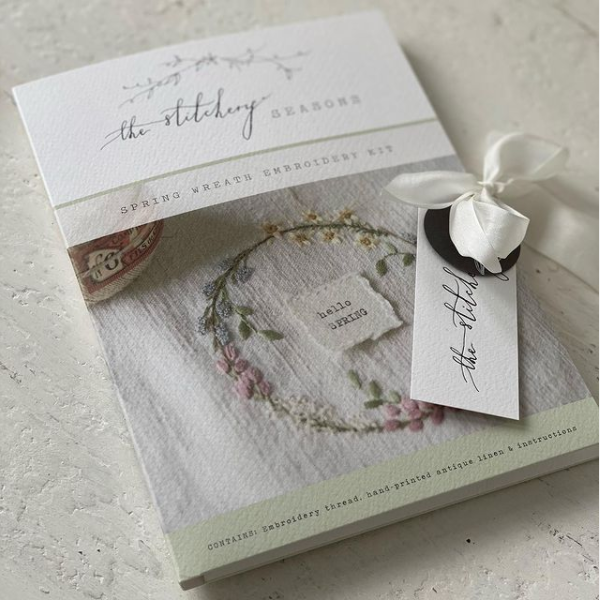 Spring Embroidery Kit by The Stitchery