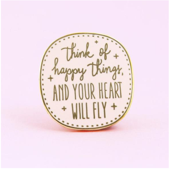 Happy Things Peter Pan Pin