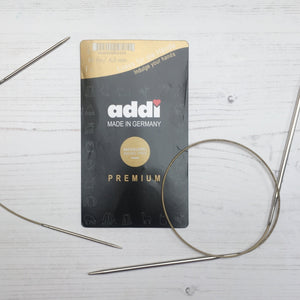 Addi fixed circular knitting needles -  various sizes and lengths