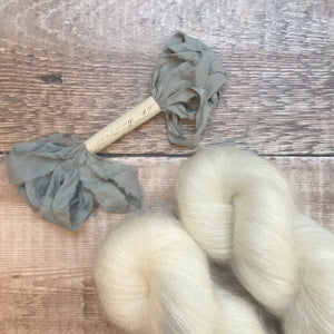 Natural Wisp- Kid Silk Mohair