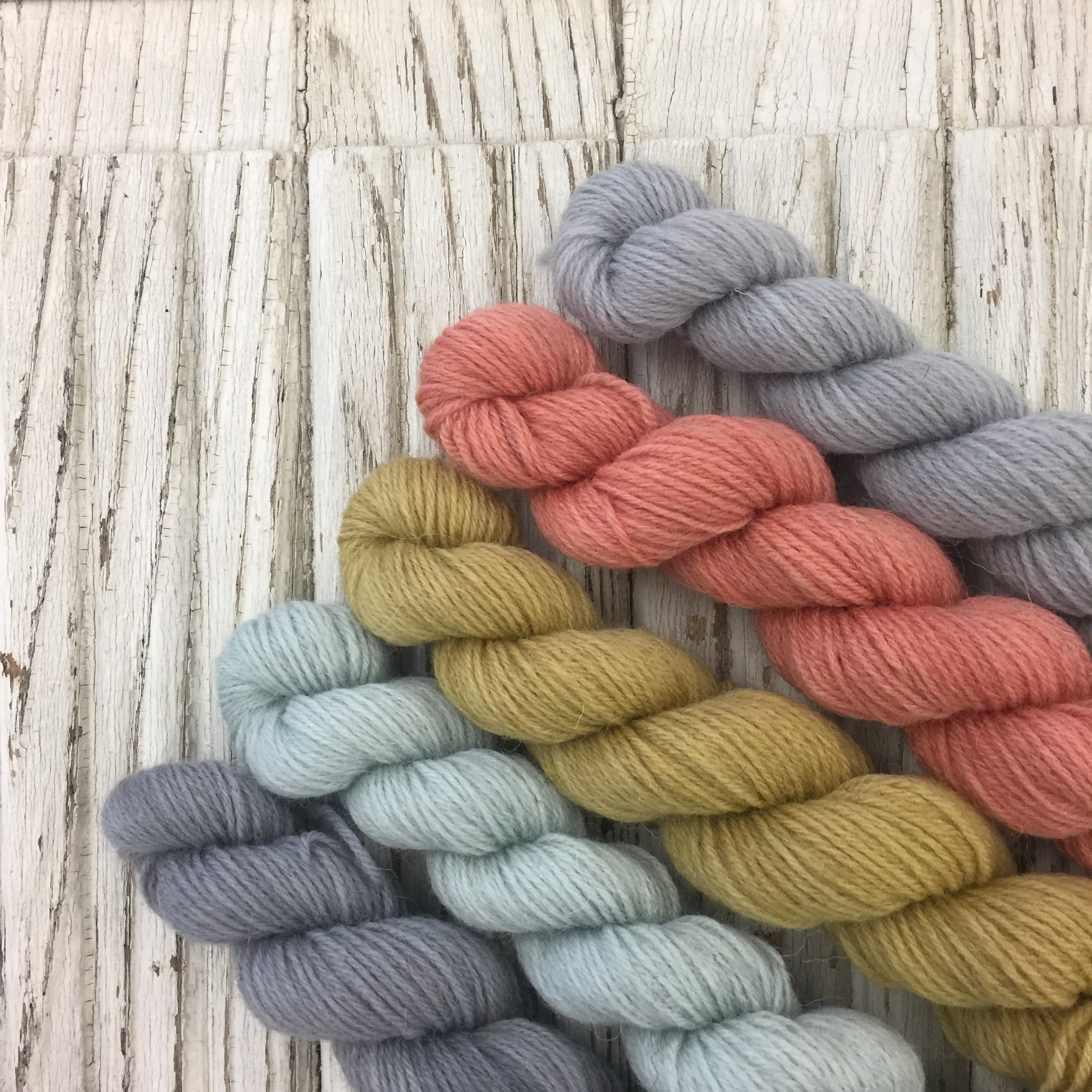 Maine - WGLY Rustic  Mini skein set