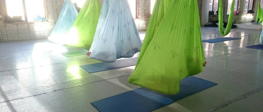AntiGravity<sup>®</sup> Restorative Yoga at Sora Studio in Toronto