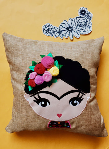 Cojin Frida The Girl