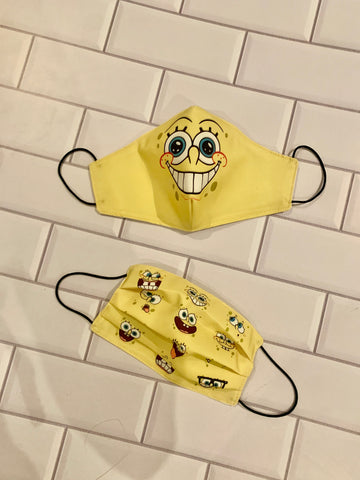 Mascarillas Spongebob