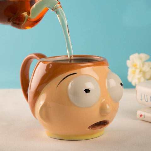 Taza Morty 3d