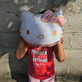 Cojin Hello Kitty Gold
