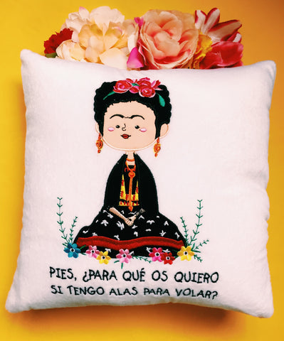 Cojin Frida Yogui