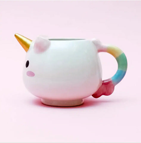 Taza Unicorn Rainbow