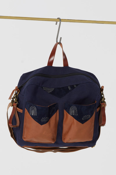 The Diaper Bag - Navy
