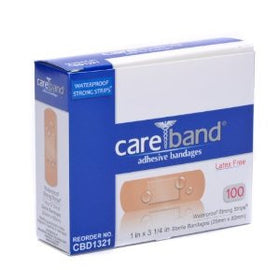 CAREBAND™ Sheer Adhesive Strips