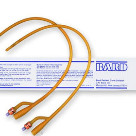 Bardia® Silicone Elastomer Latex Foley Catheter