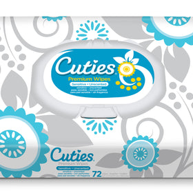First Quality® Cuties®  Baby Wipes