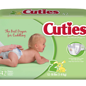 First Quality® Cuties®  Baby Diapers