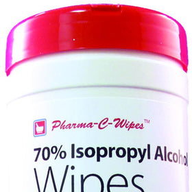 70% Isopropyl Alcohol Wipes in Pop-Top Canister
