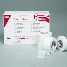 Nexcare 3M™ Transpore White Tape