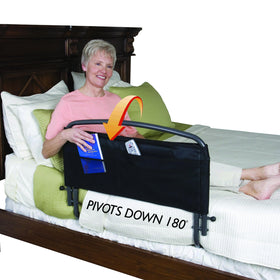 Stander™ 30 inch Pivoting Safety Bed Rail With Padded Pouch