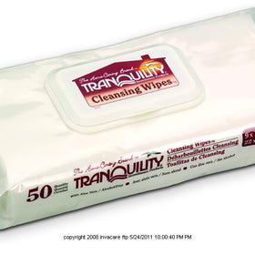 Tranquility® Disposable Cleansing Wipes