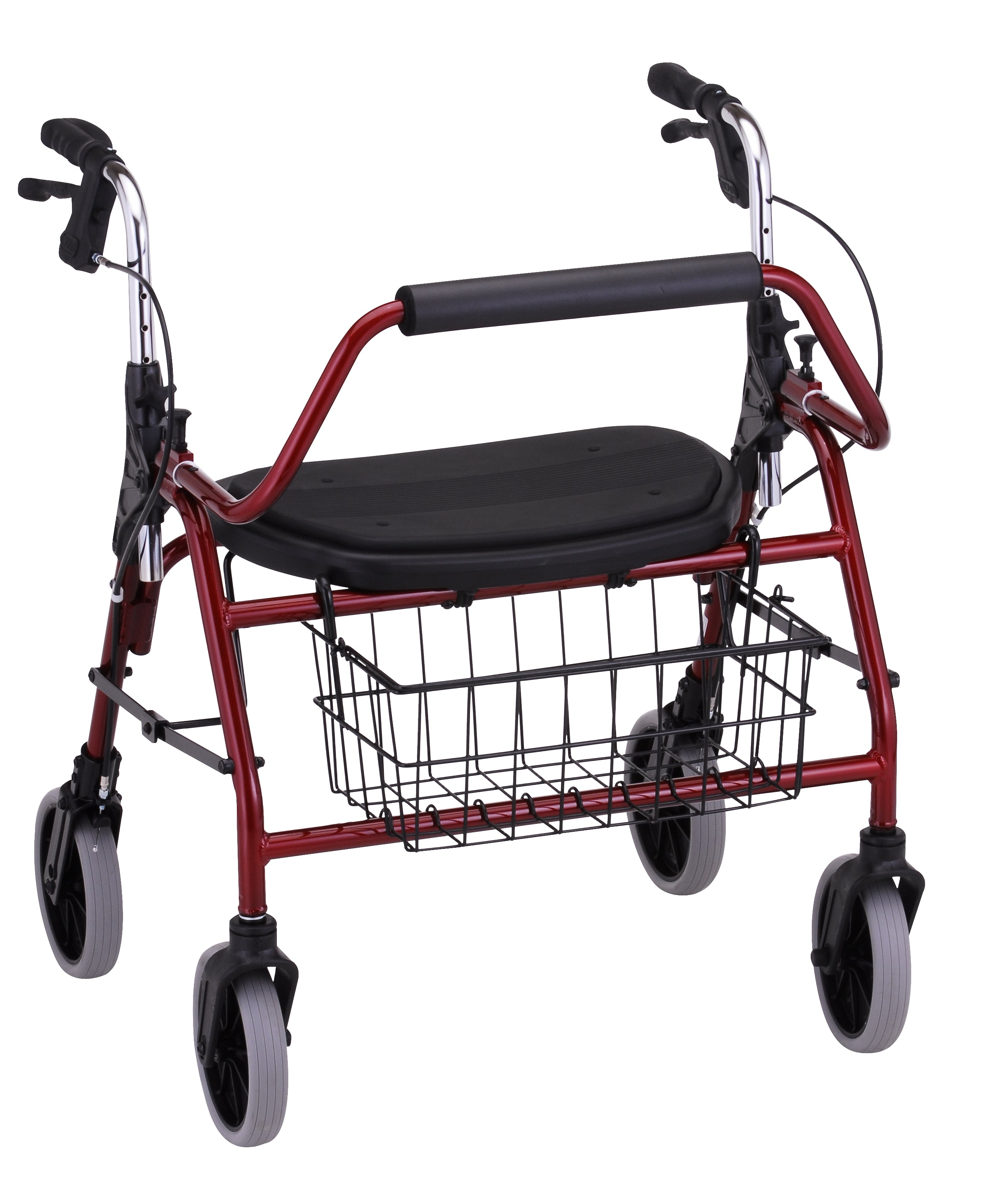 Mighty Mack Heavy Duty Rolling Walker by Nova Medical
