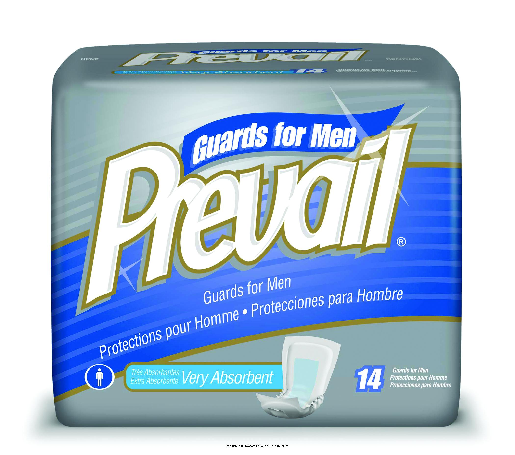 First Quality® Prevail® Male Guards