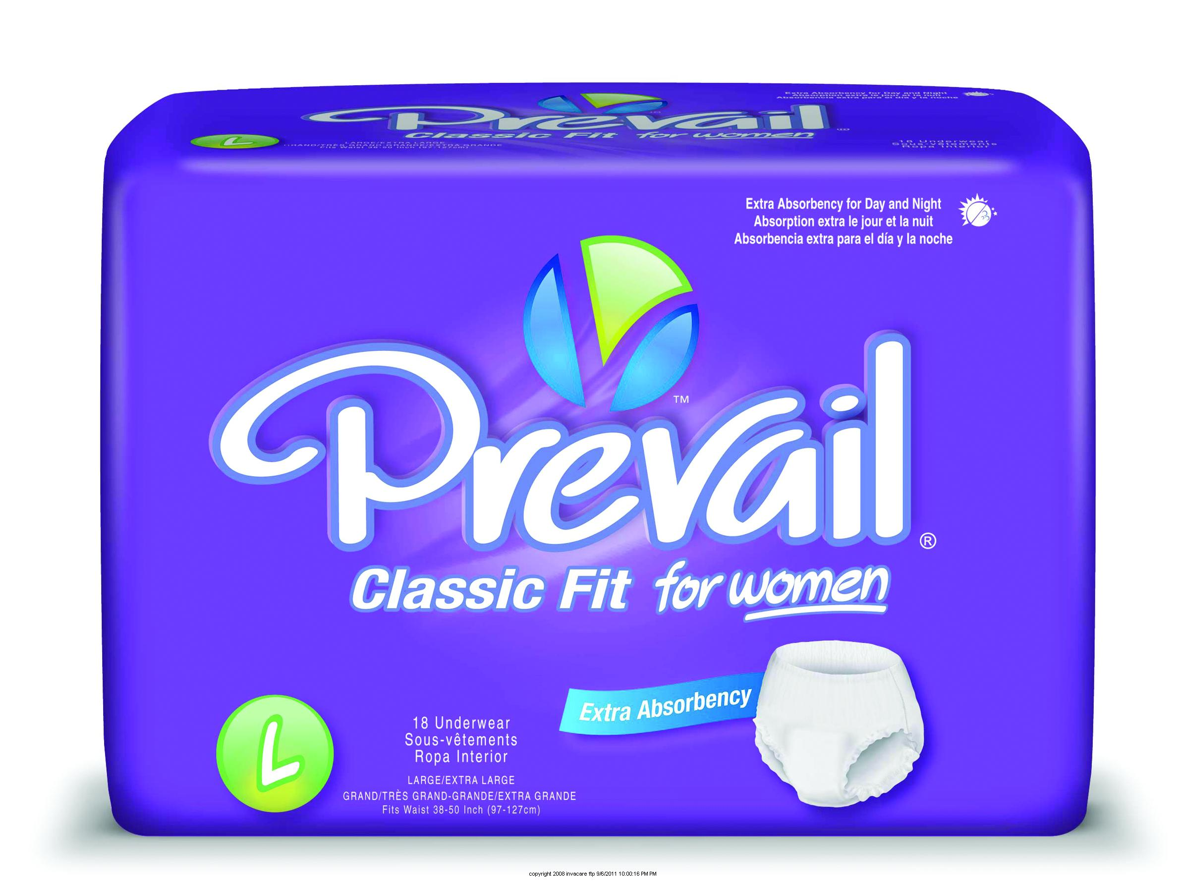First Quality® Prevail® Underwear for Women